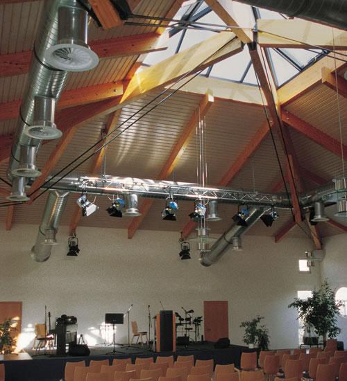 Dach aus Holz