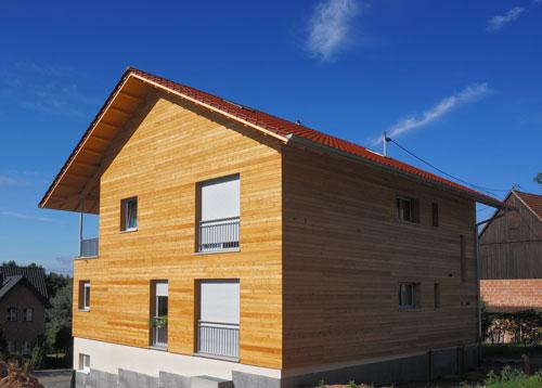 energieeffizientes Bauen mit dem Baustoff Holz