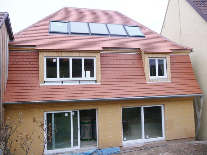 Dachdeckung und Dachsanierung