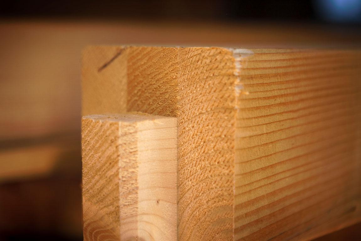 Der Baustoff Holz